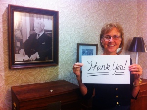 KDP Executive Director Faye Snodgress thanks you!