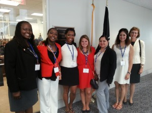 2014 Day on the Hill Sen Warren's office