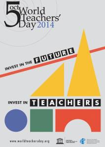 Picture of World Teachers Day poster 2014