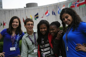 People to People Students at the UN
