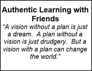 Authentic Learning with Friends