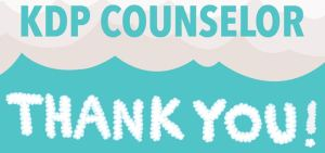 KDP Counselor Thank You