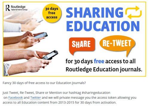 #sharingeducation