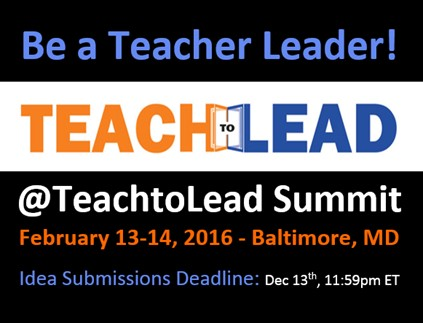 Teach to Lead Summit Baltimore