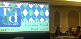 Literacy Alive Panel Session Screen (C602)