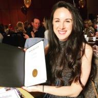 Nicolette Broda - certificate